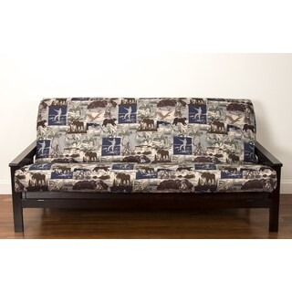 siscovers north shore futon cover siscovers microfiber camouflage futon cover   free shipping today      rh   overstock