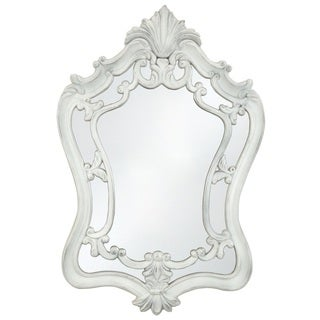 Selections by Chaumont Sandringham 46-inch Antique White Decorative Mirror