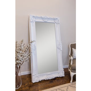 Selections by Chaumont Mayfair 67-inch White Beveled Mirror