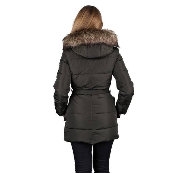 super popular shop for newest better price for Michael Michael Kors Dark Moss Down Puffer Coat