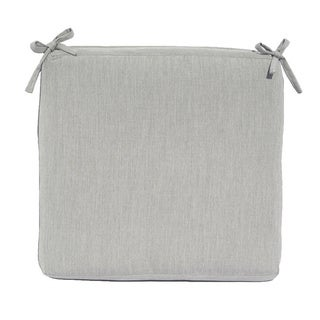 Seat Cushion Sunbrella Fabric 20 x 19-inch Knife Edge Seat Cushion
