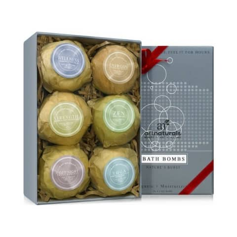 artnaturals Bath Bombs 6-piece Gift Set - Multi