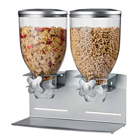 Honey-Can-Do Double Pro Model 17.5 oz Dispenser, silver