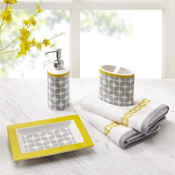 Intelligent Design Kacy 5-Piece Bath Accessory Set - 2 Color Options