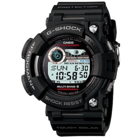 Casio Men's GWF1000-1JF 'G-Shock' Black Resin Watch