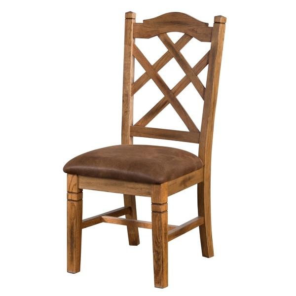 Shop Sunny Designs Sedona Double Crossback Chair Free