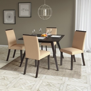 CorLiving Smooth Top Bistro Dining Chairs Set of 2
