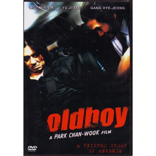 Old Boy DVD Park Chan-Wook korean action revenge subtitled 2003