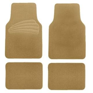 FH Group Beige Premium Carpet Floor Mats
