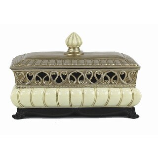 D'Lusso Designs Juliana Collection Large Jewelry Box