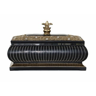D'Lusso Designs Iris Collection Large Decorative Box
