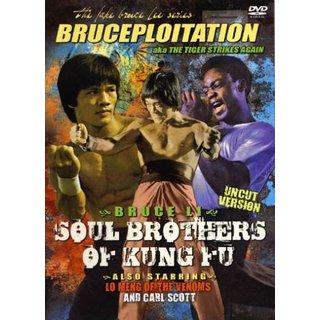Tiger Strikes Again! Bruce Li Soul Brothers of Kung Fu movie DVD Uncut 1977