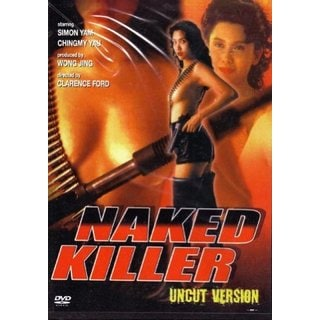 Naked Killer movie DVD Simon Yam Chingmy Yau action uncut version 2013