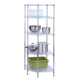 Honey-Can-Do 5-tier corner shelf