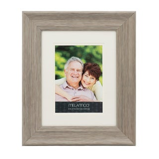Melannco Double Matted To 5 x 7 Grey Frame