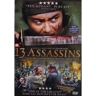 13 Assassins movie DVD Takashi Mike samurai action classic!