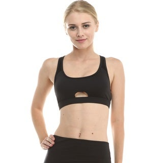 Women's Cut-out Sports Bra