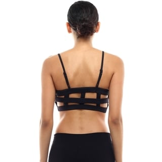 Women's Caged Back Sports Bra