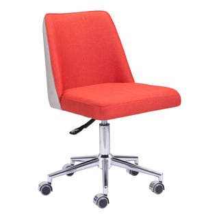 Season Office Chair in Orange/Beige