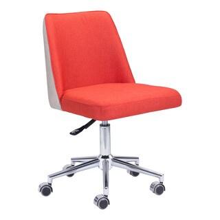 Season Office Chair in Orange/Beige