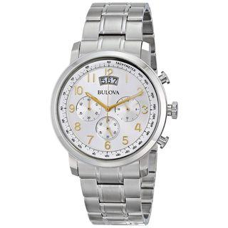 Bulova Men's 96B201 Chronograph Stainless Steel Watch