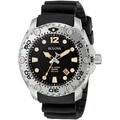 Bulova Men's 96B228 'Sea King' Black Rubber Watch