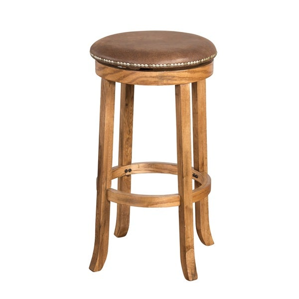 Shop Sunny Designs Sedona Swivel Backless Bar Stool Free