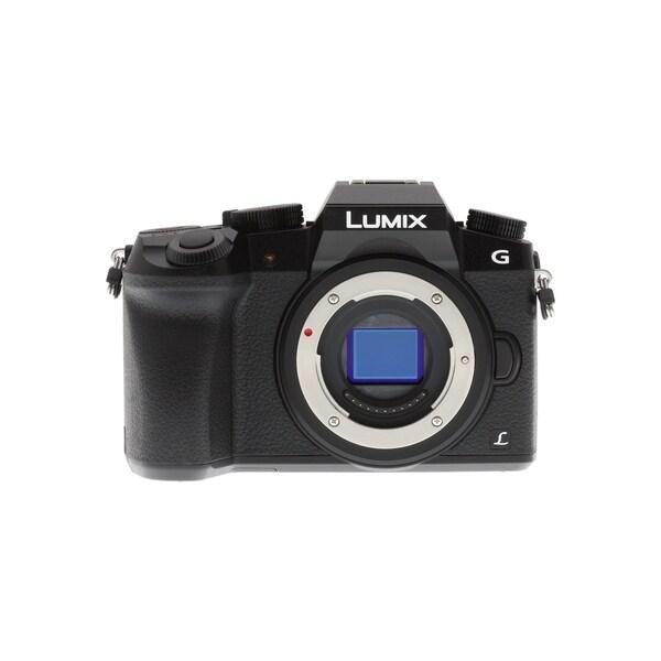 Panasonic Lumix DMC-G7 (Black, Body Only)