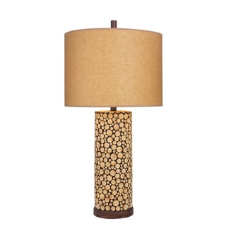 31 inch Wood Table Lamp