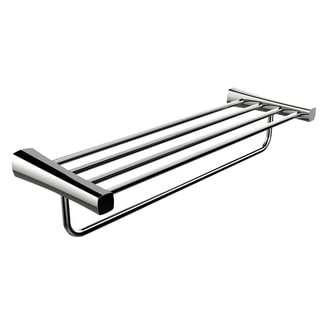 24-inch Multi-rod Towel Rack In Chrome