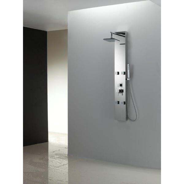 Excellent Shower Panel Wall Pictures Inspiration - Bathtub Ideas ...