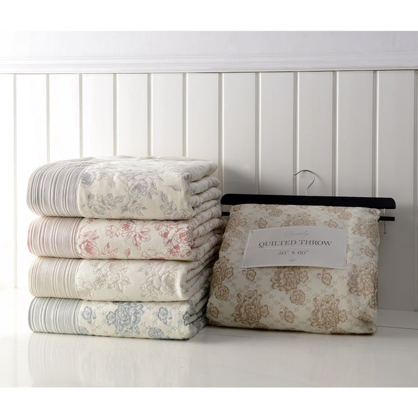 Beverly Vintage Antique Chic Soft Throw