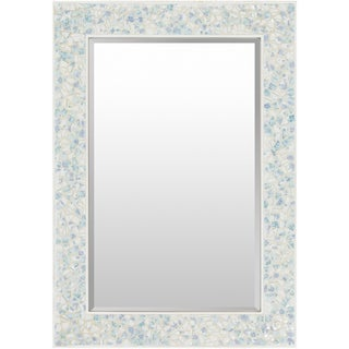 Colburn Mother of Pearl Inlaid Large Size Rectangular Wall Mirror