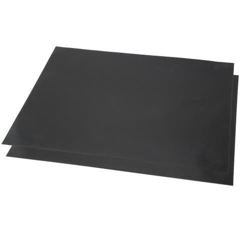 Nonstick BBQ Grill Mat, Set of 2- FDA Approved, Double Sided and Reusable Classic Cuisine