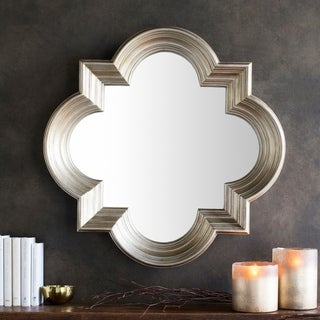The Gatsby Wall Mirror With Platinum Gold Frame Free
