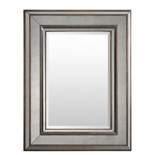 Malton METAL & MIRROR Framed Medium Size Rectangular Wall Mirror