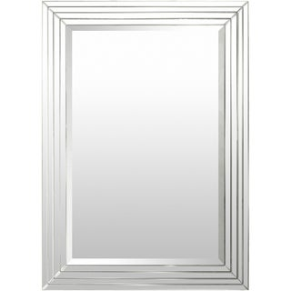 Alijah MDF Framed Medium Size Rectangular Wall Mirror