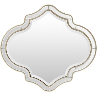 Small Peaked Frameless Mirror Free Shipping Today