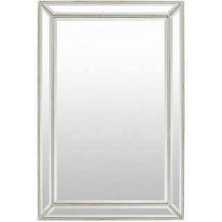Danika Wood Framed Medium Size Rectangular Wall Mirror