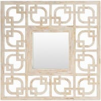 Shiloh Framed Small Size Square Wall Mirror