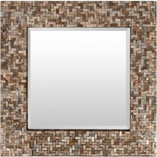 Schmit MDF Framed Small Size Square Wall Mirror
