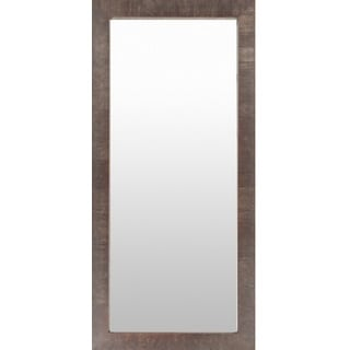Jolene Wood Framed Large Size Rectangular Wall Mirror