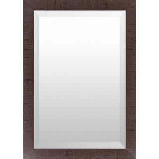 Hollie Wood Framed Large Size Rectangular Wall Mirror