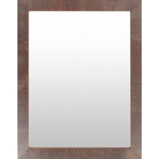 Seamus Wood Framed Large Size Rectangular Wall Mirror
