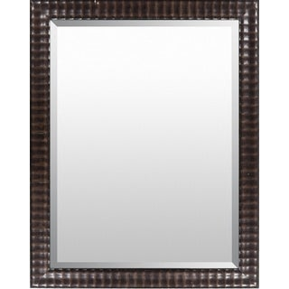 Sawyer Wood Framed Large Size Rectangular Wall Mirror