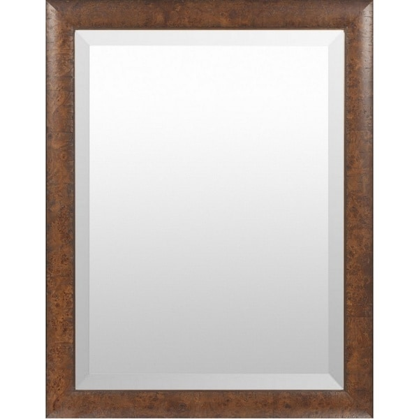 Samara Wood Framed Large Size Rectangular Wall Mirror