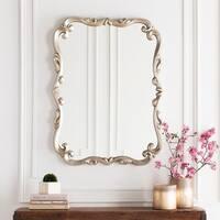Harvey Polyurethane Framed Medium Size Rectangular Wall Mirror