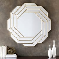 Brandi Framed Medium Size Wall Mirror - Bronze