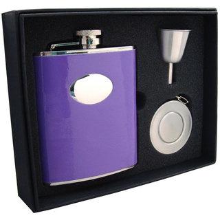 Visol Orchid Purple Stellar Flask Gift Set - 6 ounces