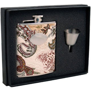 Visol Fashion Contemporary Legacy Flask Gift Set - 6 ounces